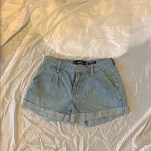 Hollister high rise mom shorts